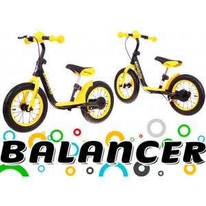 Jooksuratas Sportrike Balancer Kollane Jalgrattad