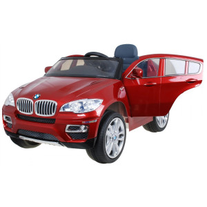 BMW X6 Punane lakitud ELEKTRILISED AUTOD