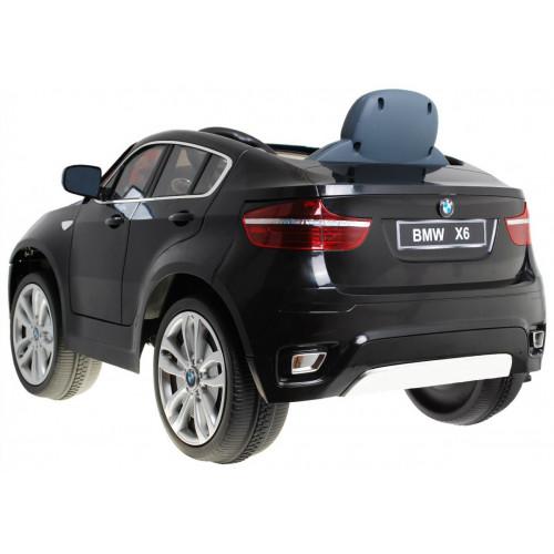Elektriline Auto BMW X6 Must Lakitud Lastele