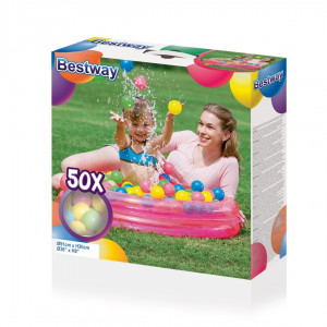 Lastebassein +50 palli