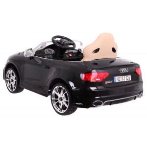 AUDI RS5 laste elektriauto Must Lakitud ELEKTRILISED AUTOD