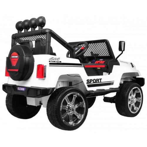 03d7fad17c4 Elektriline auto UUS Jeep Raptor Drifter 4X4 Valge Lastele