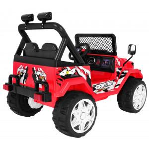 Jeep Raptor Drifter Punane Elektrilised autod