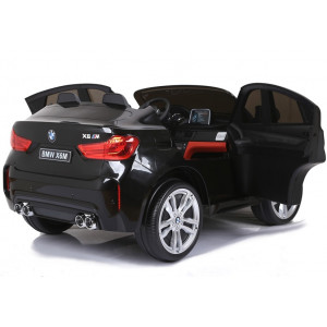 Kahekohaline BMW X6M Must Lakitud Elektrilised autod