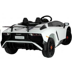 Laste Elektriauto Lamborghini Valge Elektrilised autod