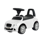 Pealeistutav Tõukeauto Bentley Valge Tõukeautod