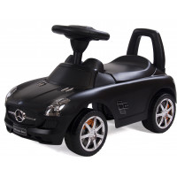 Pealeistutav Tõukeauto Mercedes Must Tõukeautod
