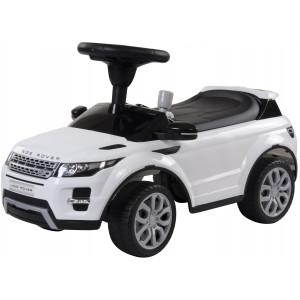 Pealeistutav Tõukeauto Range Rover Valge Tõukeautod