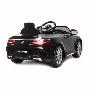 Mercedes S63 AMG Must lakitud ELEKTRILISED AUTOD