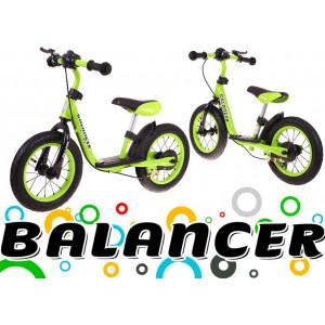 Jooksuratas Sportrike Balancer Roheline Jalgrattad