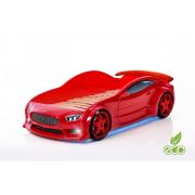 Auto-Voodi Evo Volt 3D Punane Auto-voodid