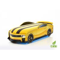 Auto-Voodi Uno Gold Kollane Auto-voodi