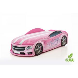 Auto-Voodi Uno Star Roosa Auto-voodi